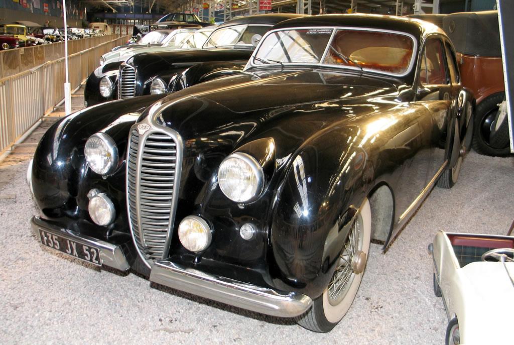gt dreams le mus e automobile de reims champagne delahaye 135 ms coach dubos 1948. Black Bedroom Furniture Sets. Home Design Ideas
