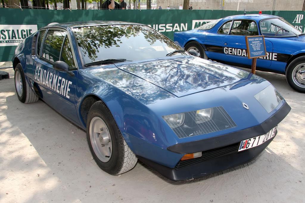 gt dreams le tour auto 2010 optic 2ooo alpine renault a310 v6 gendarmerie 1981. Black Bedroom Furniture Sets. Home Design Ideas